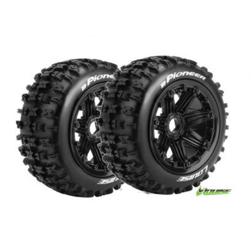 LOUISE B-Pioneer 1/5 Rear Wheel and Tyre (2PCS)