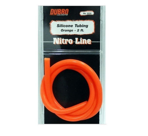 DUBRO 2232 NITRO LINE (ORANGE) - 2 FT (1 PCS PER PACK)