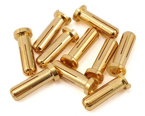 Maclan Max Current 5mm Gold Bullet Connectors (10)