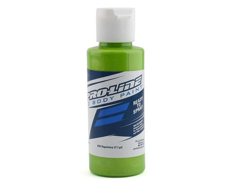 Pro-Line RC Body Airbrush Paint (Pearl Lime Green) (2oz)
