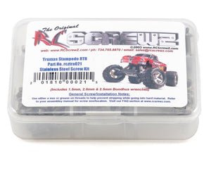 RC Screwz Traxxas Stampede XL5 Stainless Steel Screw Set