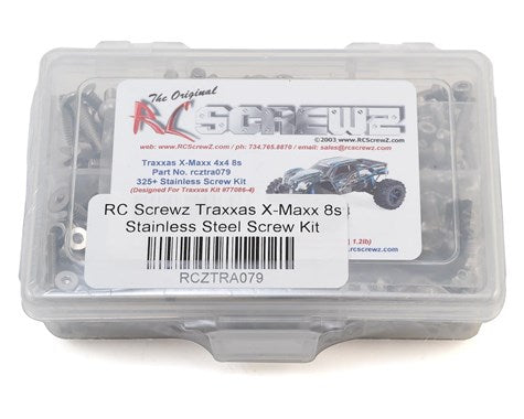 RC Screwz Traxxas X-Maxx 8S Stainless Steel Screw Kit