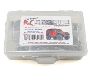RC Screwz Traxxas TRX-4 Stainless Steel Screw Kit