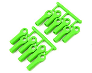 RPM Long Traxxas Turnbuckle Rod End Set (Green) (12) #RPM80514