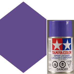 Tamiya PS-10 Purple Polycarbanate Spray Paint 100ml #TAM-86010