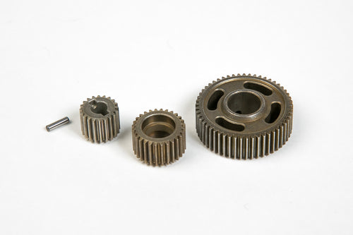 REDCAT RACING STEEL TRANS. GEAR SET (20,28,53T&PIN) #13859