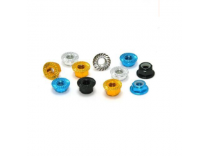 Embossing Flange Nut M5(DTLN01017) COLOURED