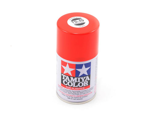 85049 | Tamiya TS-49 Bright Red Lacquer Spray Paint 100ml