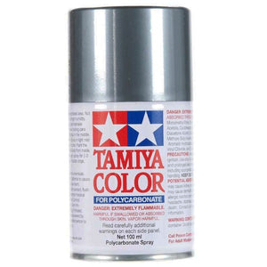 Tamiya PS-12 Silver Polycarbanate Spray Paint 100ml #86012