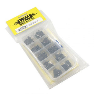 Yeah Racing 12.9 Grade Carbon Steel Screw Assorted Set (200pcs) with FREE Mini box #SSS-200
