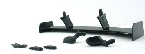 Yeah Racing Touring Rear Wing set 183mm for 1/10 RC Black #YA-0324