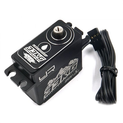 Yeah Racing Aluminium Case IP67 33KG Waterproof Coreless Servo For 1/10 Crawler Black #YE-0034BK
