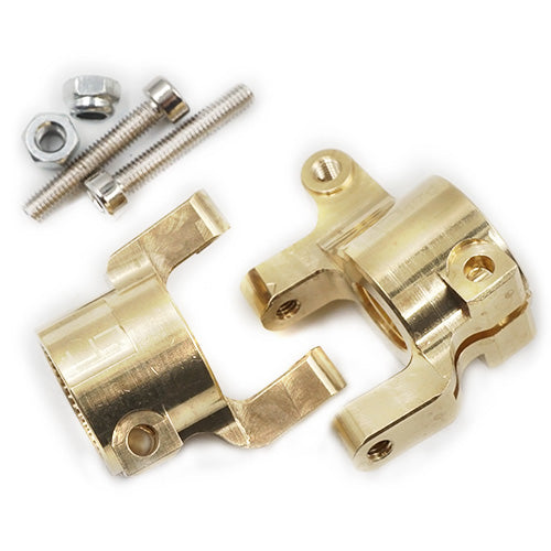YEAH RACING Brass C-Hub 2 pcs For Axial SCX10 II #AXSC-005