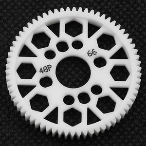 Yeah Racing Competition Delrin Spur Gear 48P 66T For 1/10 On Road Touring Drift #SG-48066