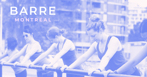 Barrepreneur Corine Fortin founder of Barre Montreal