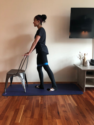 Band barre workout britany williams