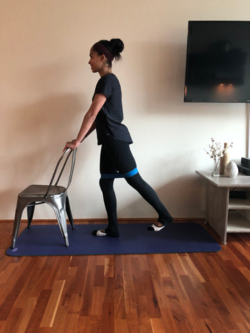 Resistance Band Barre Workout Britany Wiliams