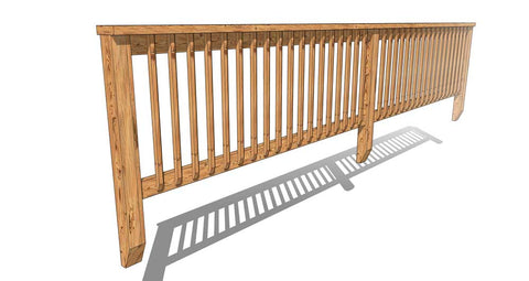 Pressure Treated handrail