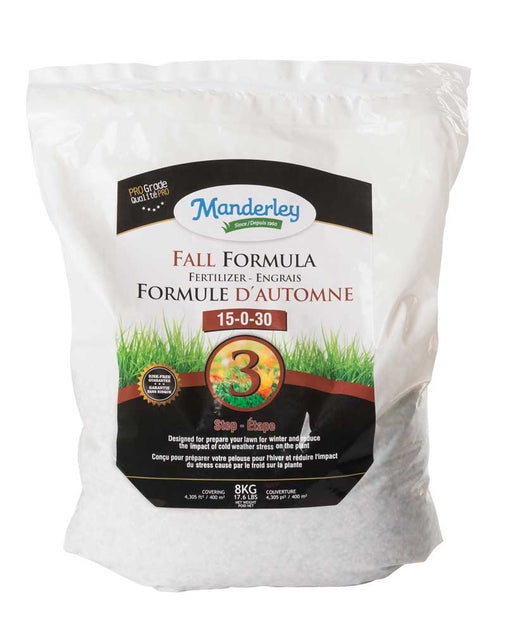 Fall Formula Fertilizer 15-0-30