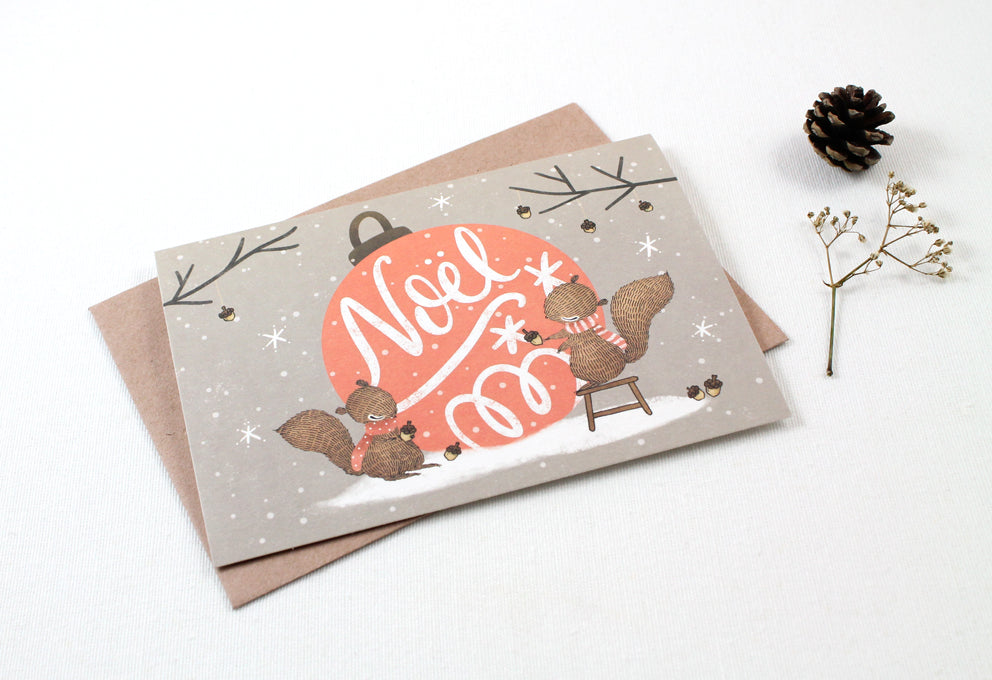 Christmas Card - Noel - Greeting Card (Special Discount)