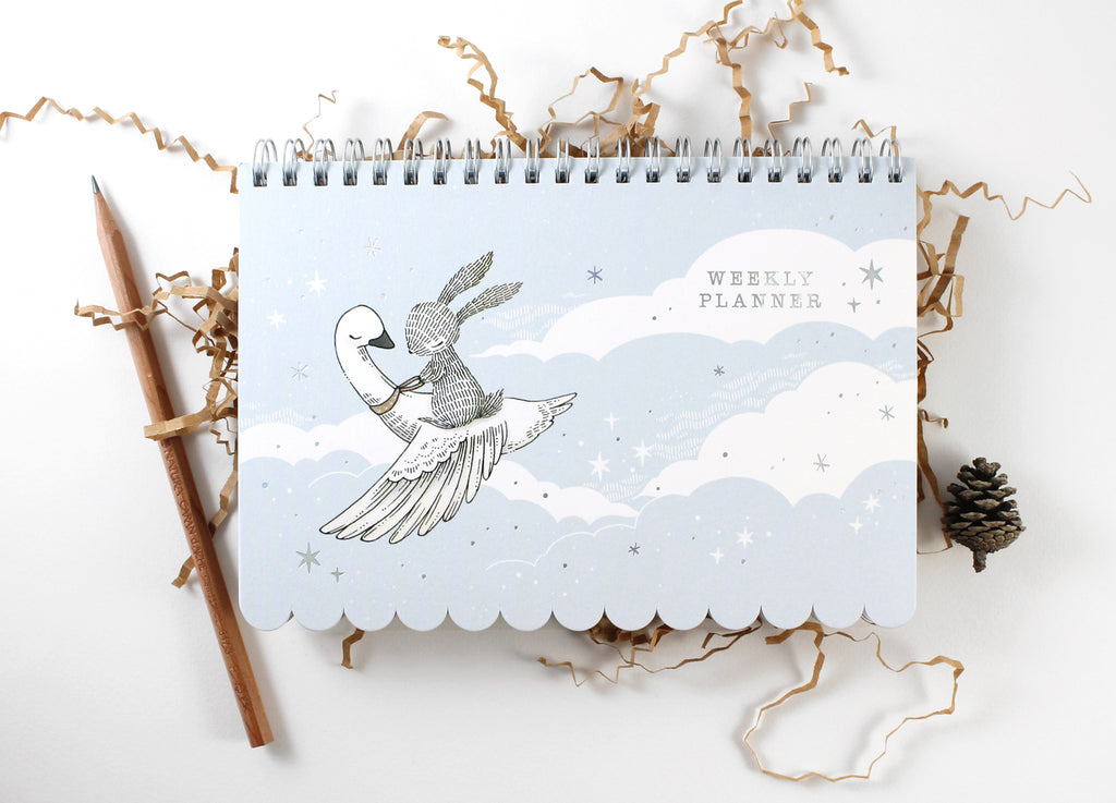 Weekly Planner - Rabbit & Swan (Special Discount)