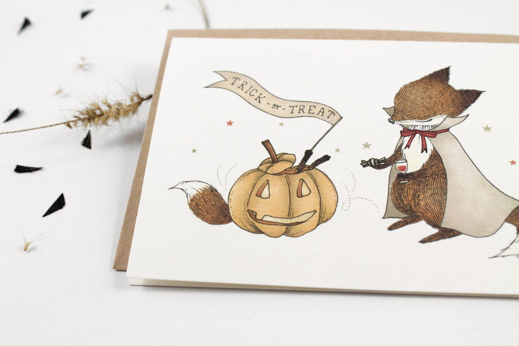 70% OFF - Trick or Treat - Greeting Card