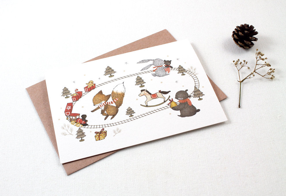 Christmas Card - Christmas Presents - Greeting Card