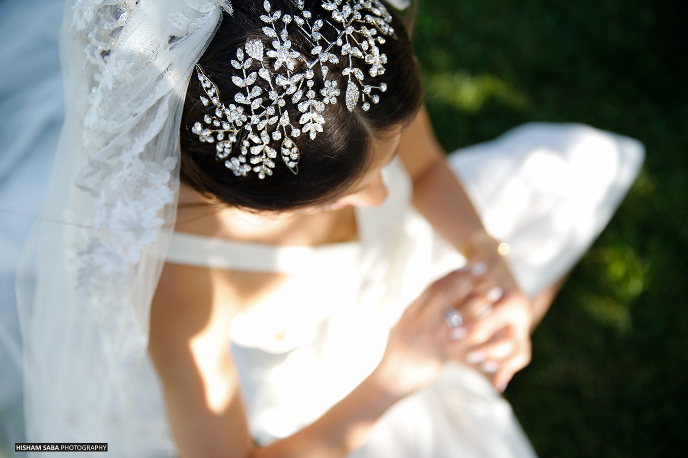 Bridal Hairstyles – Headpieces with crystals – Hair Jewelry – Wedding Accessories – Bridal Styles