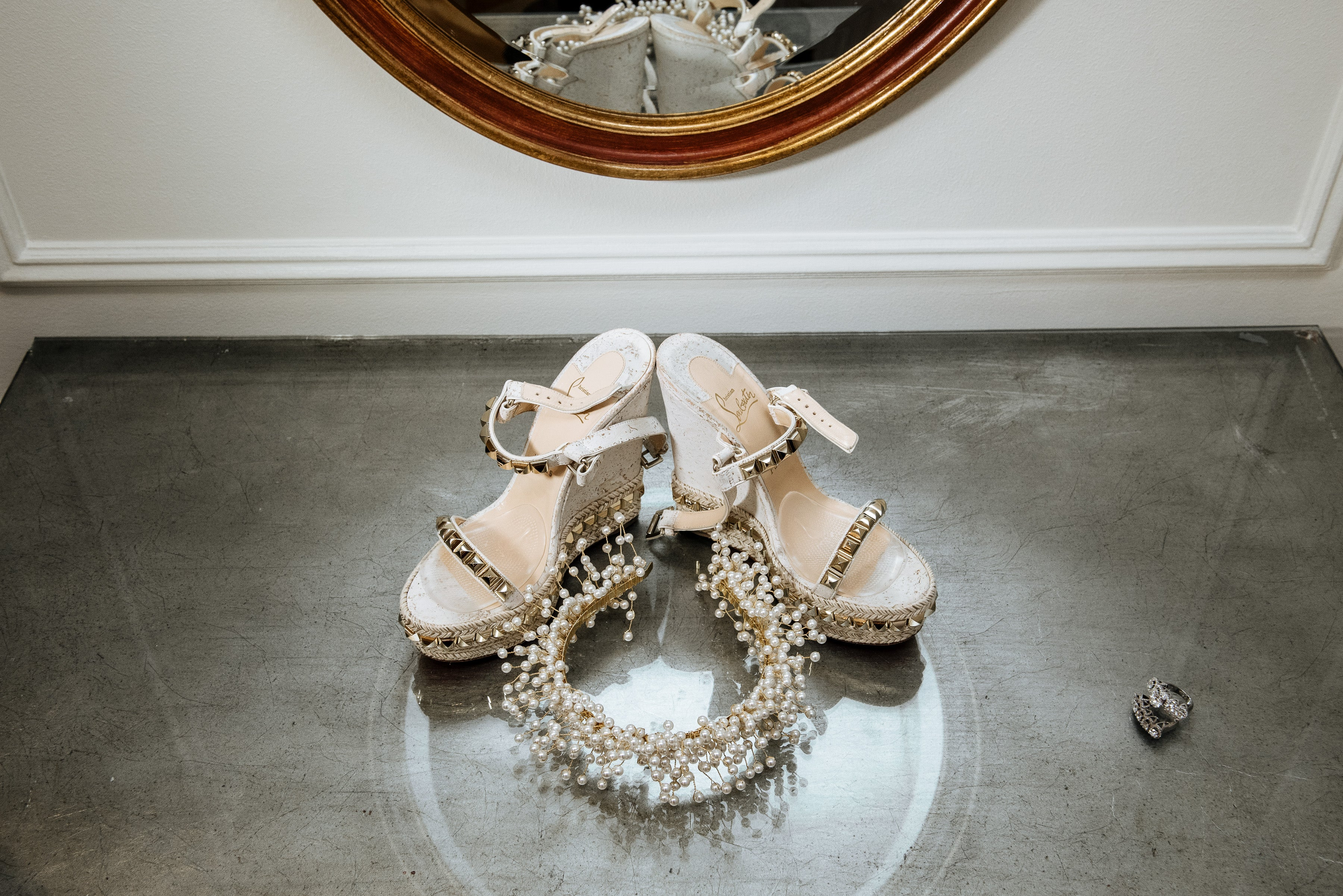 Bridal - Hair - Photography - Bride - Wedding - Jewelry - Headpiece - Crown - Tiara - Shoes