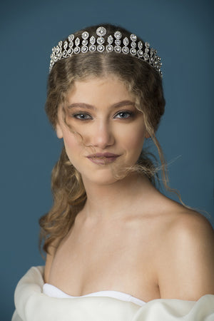 Wedding Inspiration - Headpiece - Crown - Tiara - Swarovski - Bridal Look