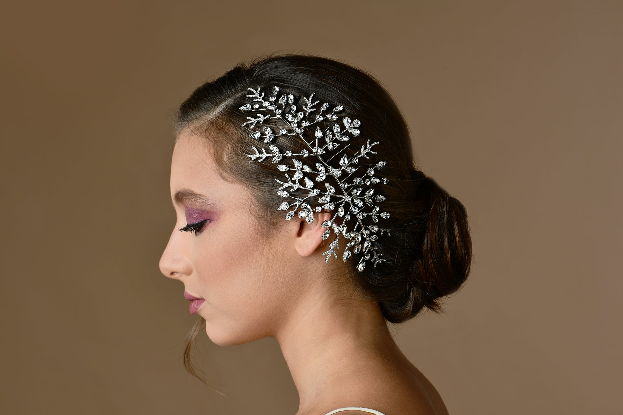 Luxury Wedding - Fabric Headpiece - Elegant Bride - Bridal Hair