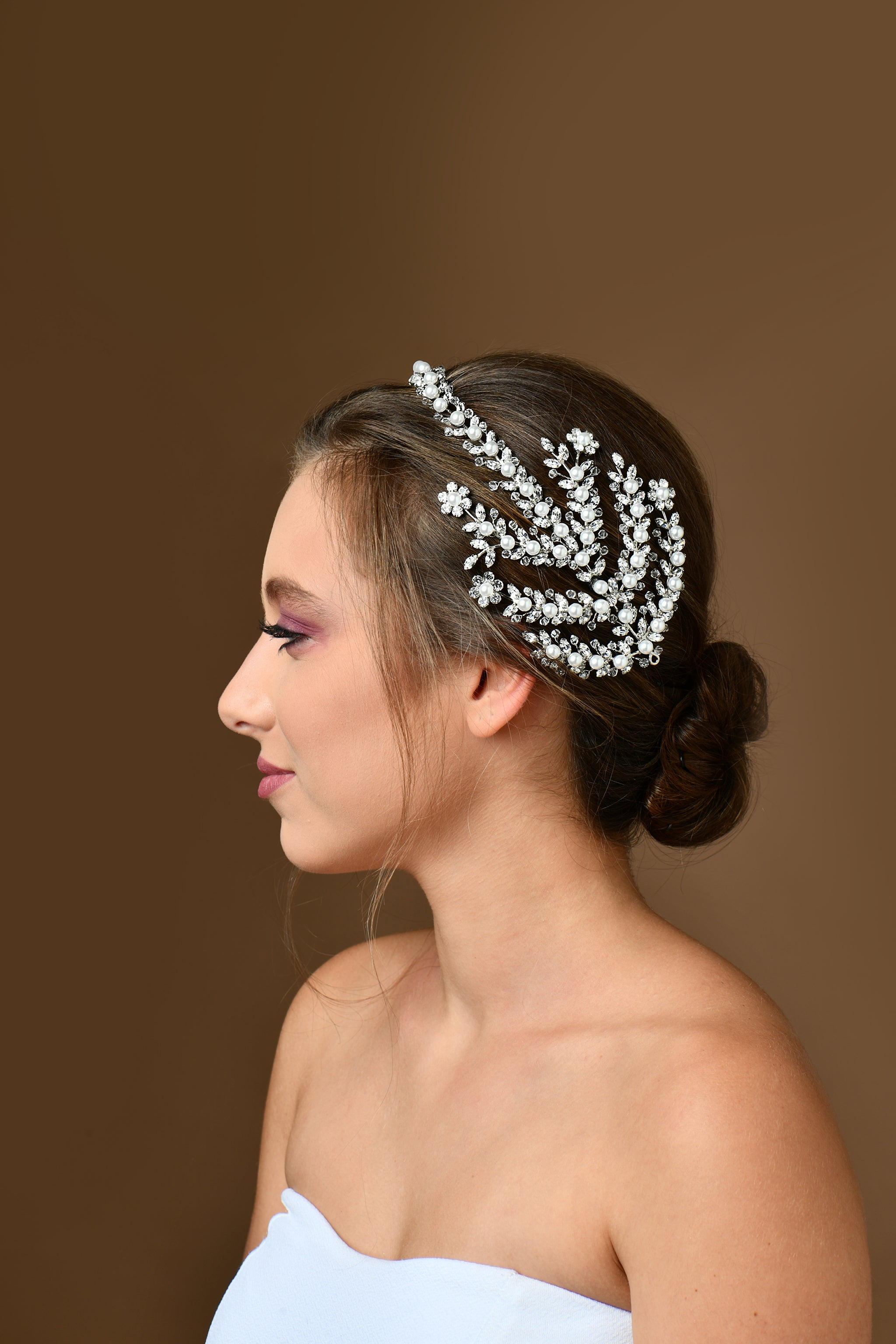 Wedding Hair - Hairstyle - Crown - Tiara - Bride