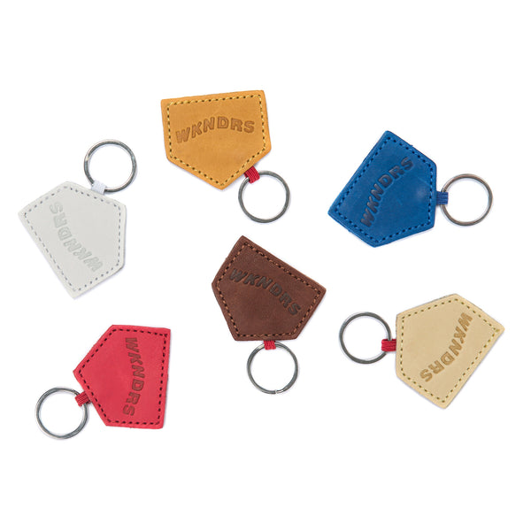 BASEBALL GLOVE LEATHER KEY RING