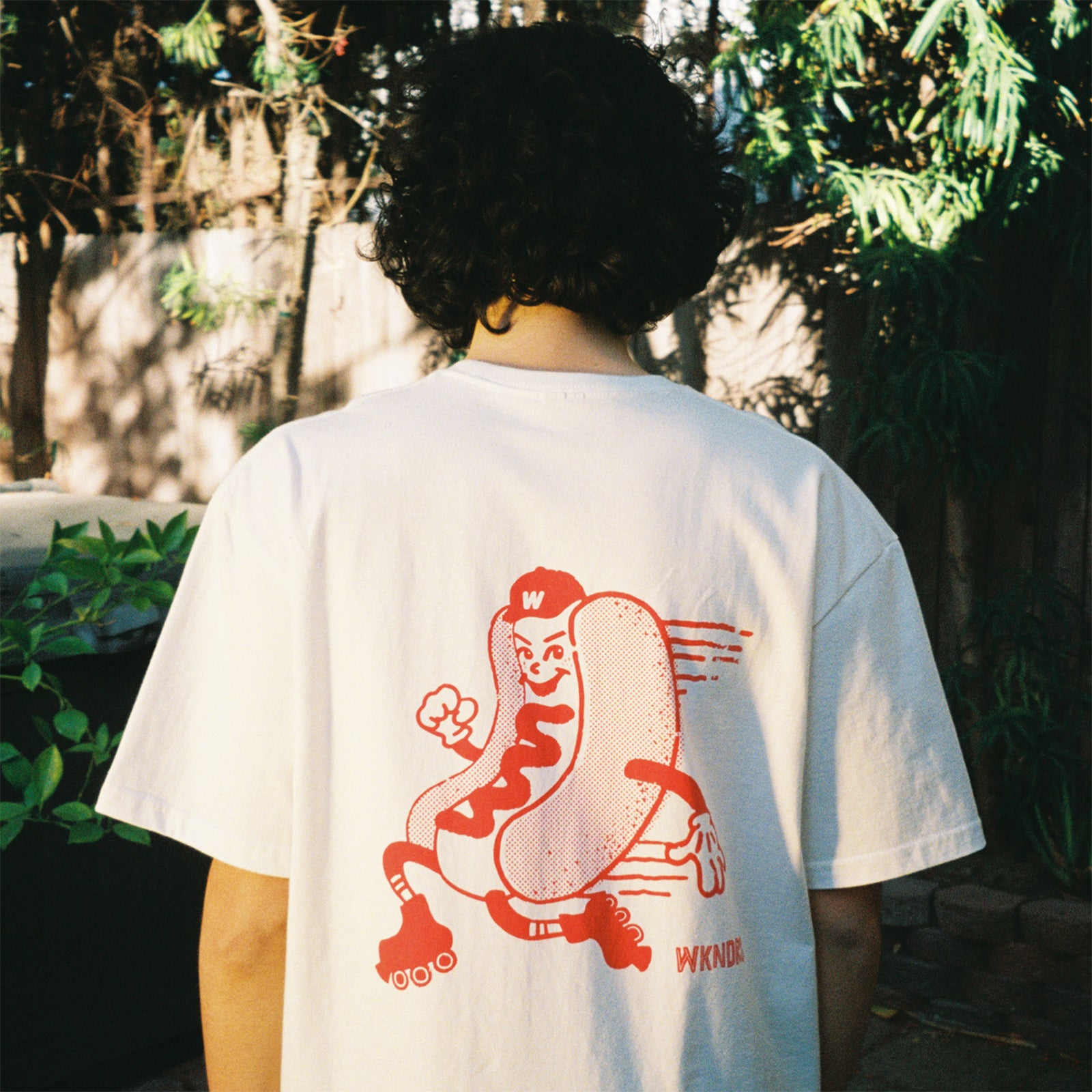 HOTDOG SS T-SHIRT (RED)