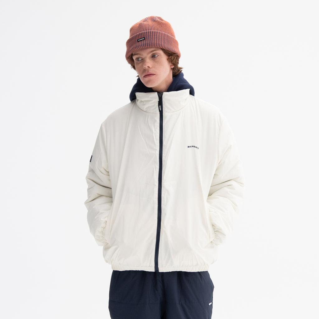 REVERSIBLE PADDED JACKET (NAVY)