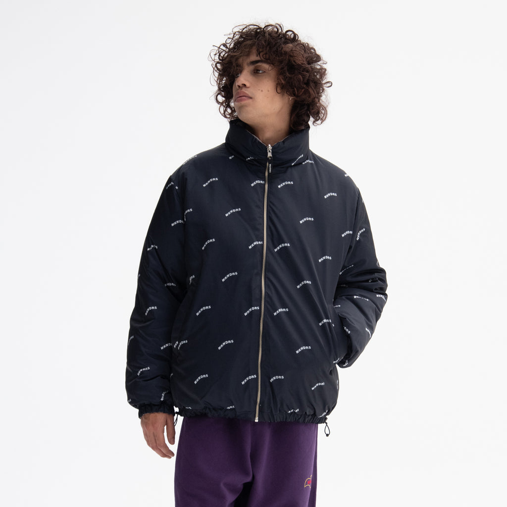 WAVY REVERSIBLE DOWN JACKET (GREY)
