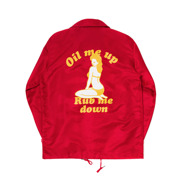 WENDY COACH JACKET (RED)