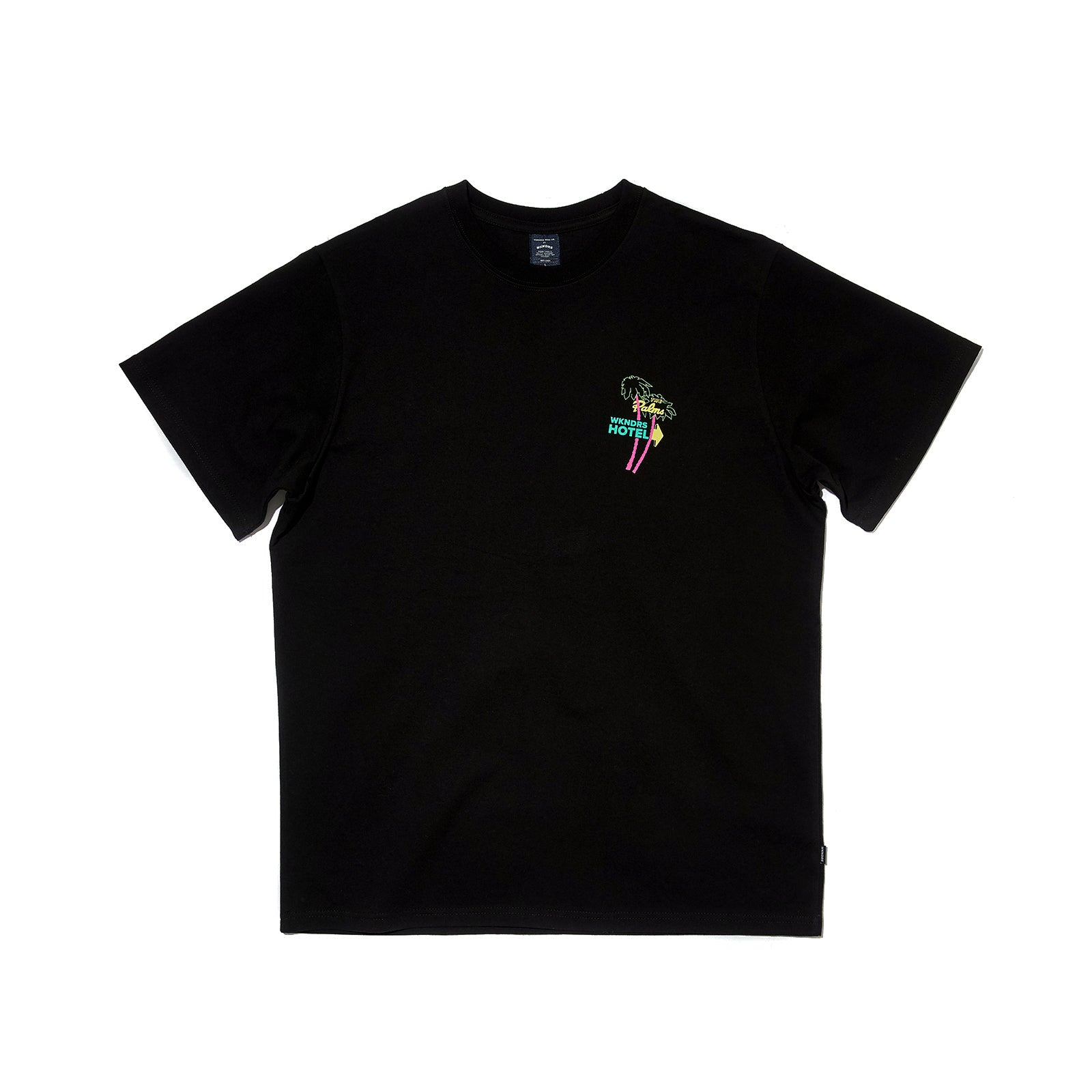 NEON SIGN SS T-SHIRT (BLACK)