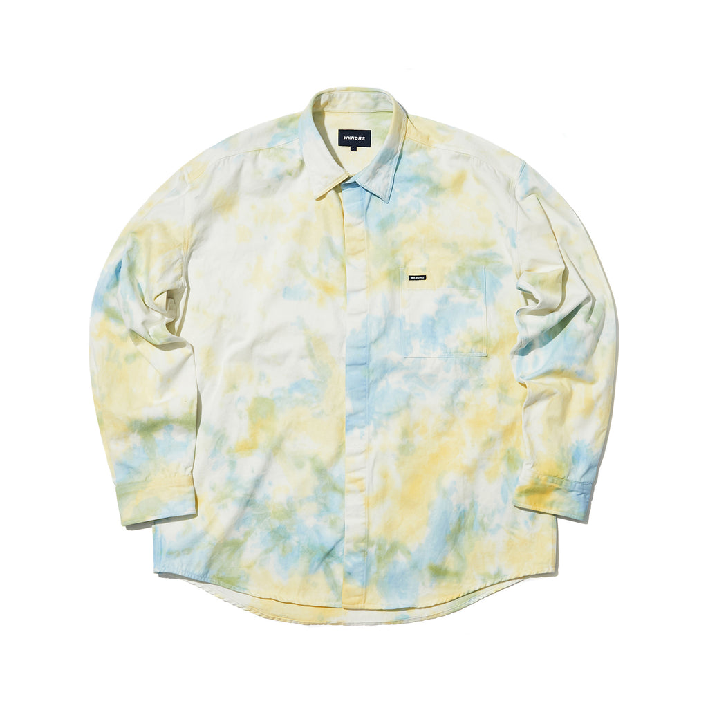 OVERSIZED LS DENIM SHIRT (WHITE)