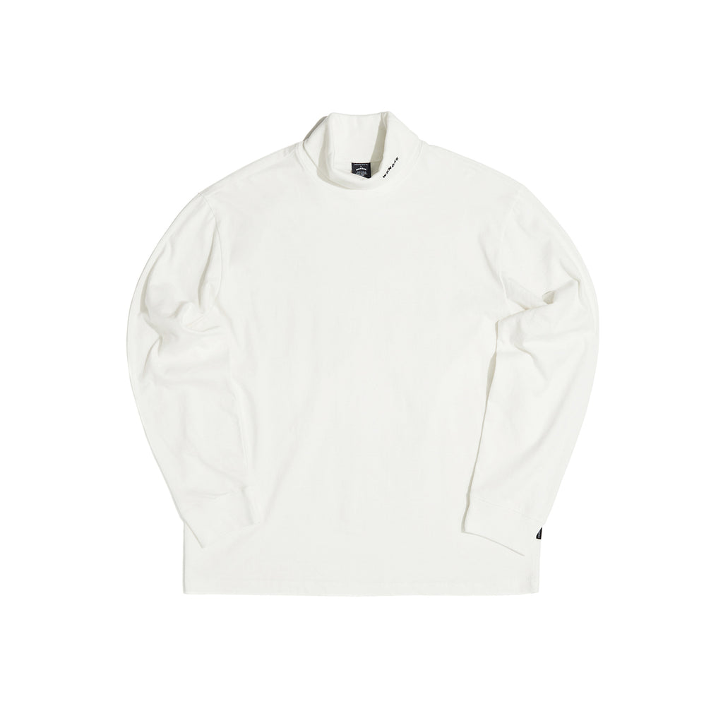 LONG SLEEVE TURTLE NECK (WHITE) [AFTER 28.Sept SHIPPING]