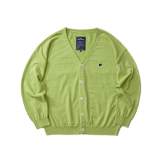 W LOGO CARDIGAN (GREEN)