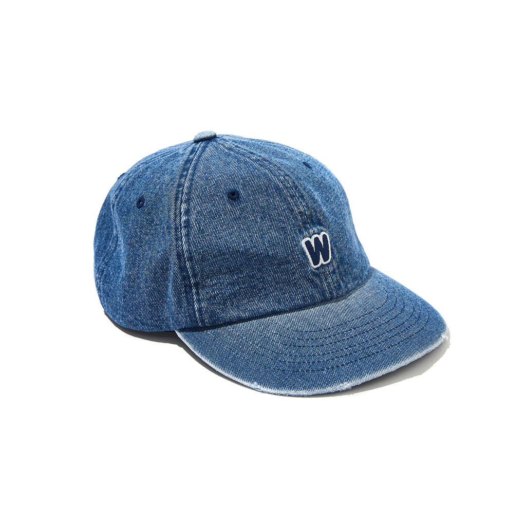 DISTRESSED DENIM CAP (D.DENIM)