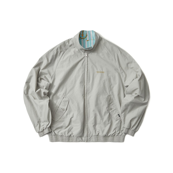 REVERSIBLE GARDEN JACKET (L.GREY)