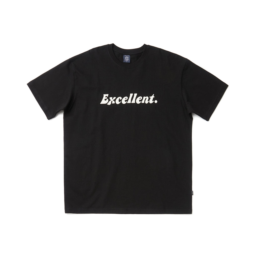 EXCELLENT SS T-SHIRT (BLACK)