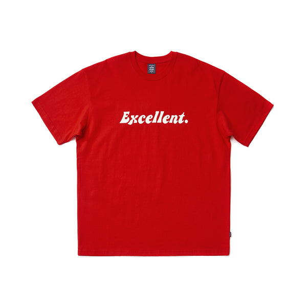 EXCELLENT SS T-SHIRT (RED)