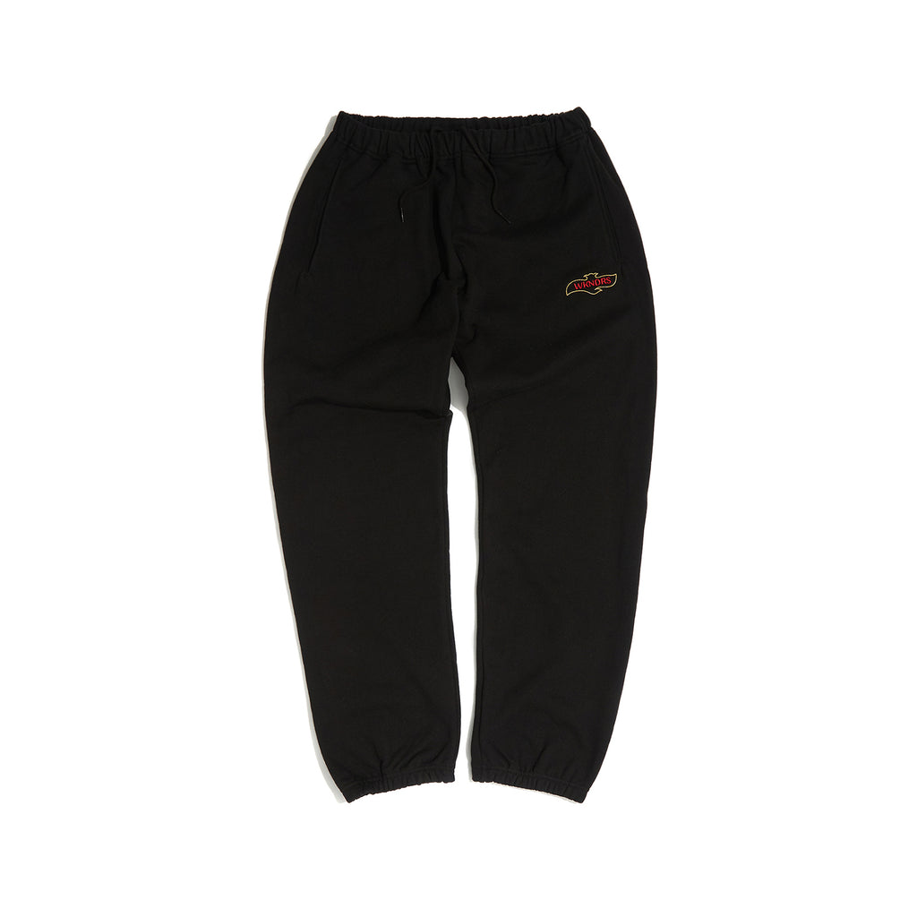 QUILTIED SWEAT PANTS (BLACK) [AFTER 8.Oct SHIPPING]