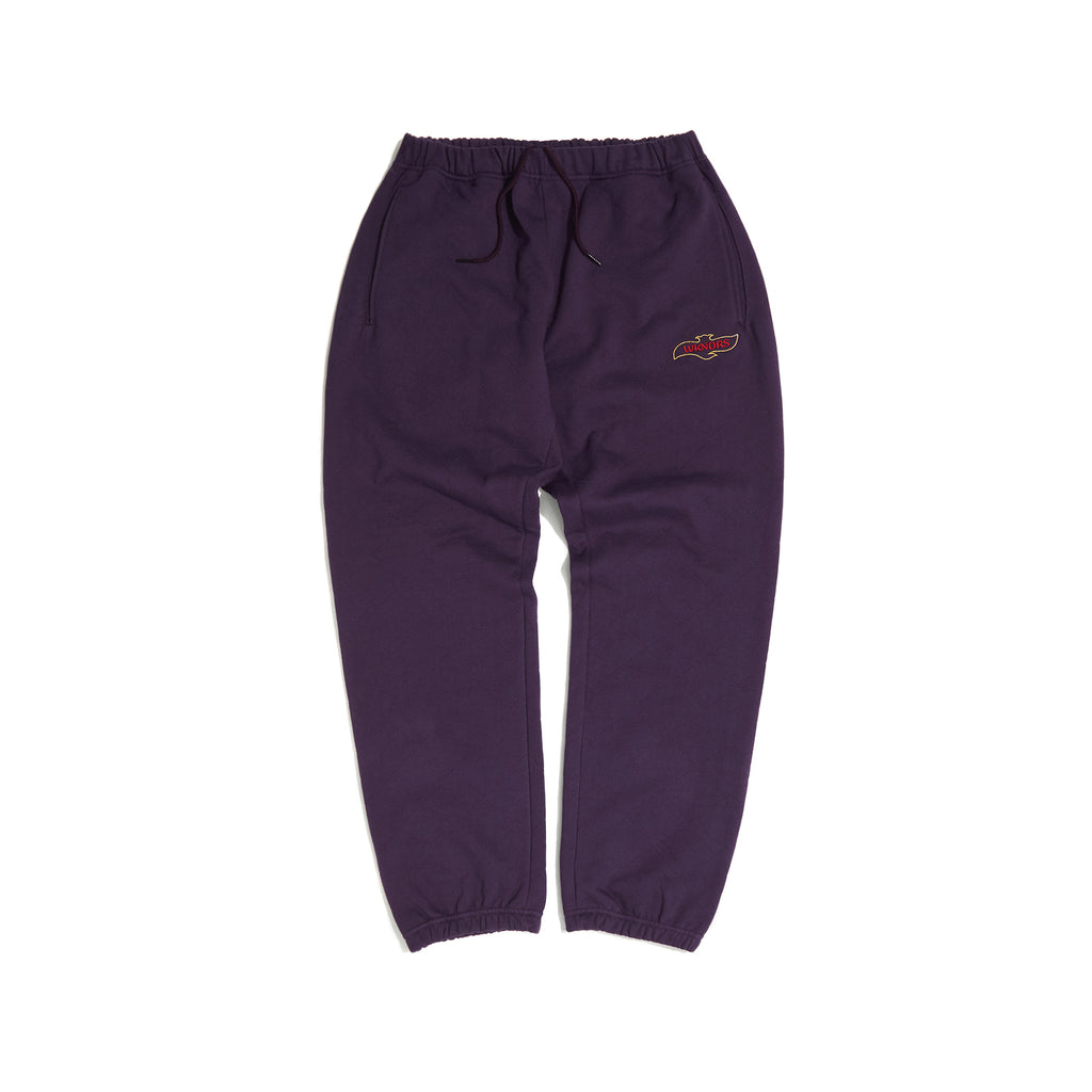 QUILTIED SWEAT PANTS (PURPLE) [AFTER 8.Oct SHIPPING]