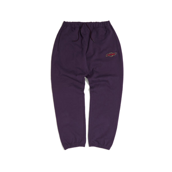 QUILTED SWEAT PANTS (PURPLE)