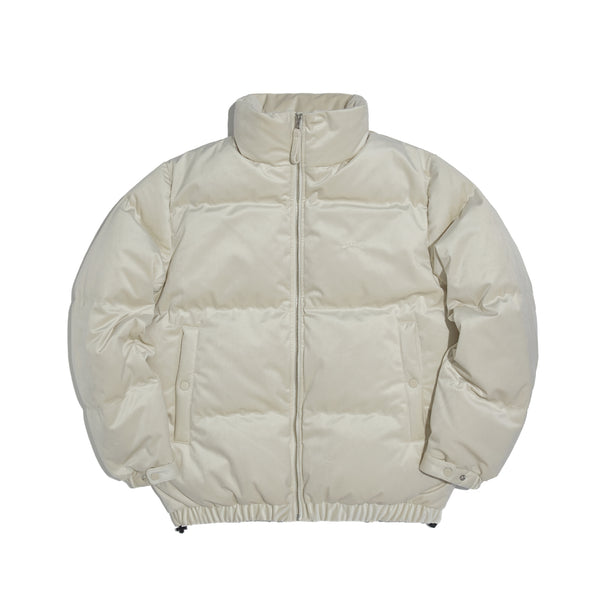 [AFTER 26.Oct SHIPPING] VELVET DOWN JACKET (IVORY)