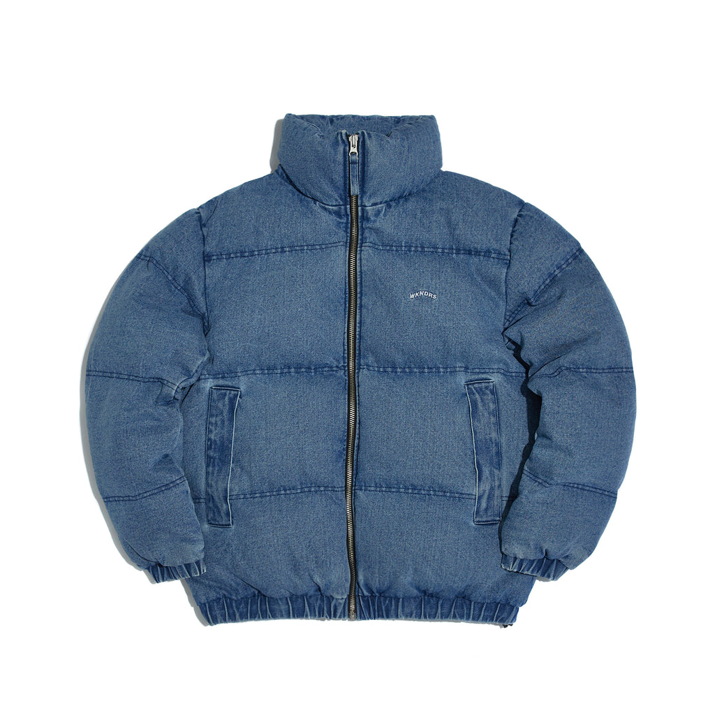 DENIM DOWN JACKET (DENIM)